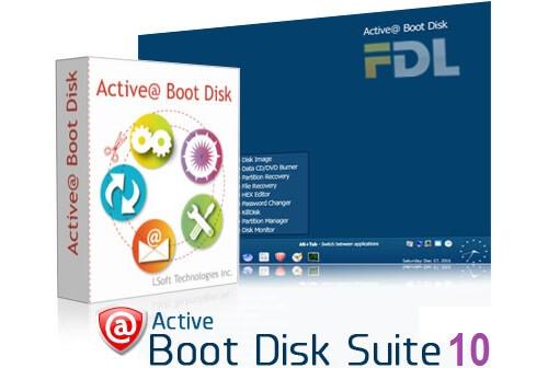 active boot disk registration name key