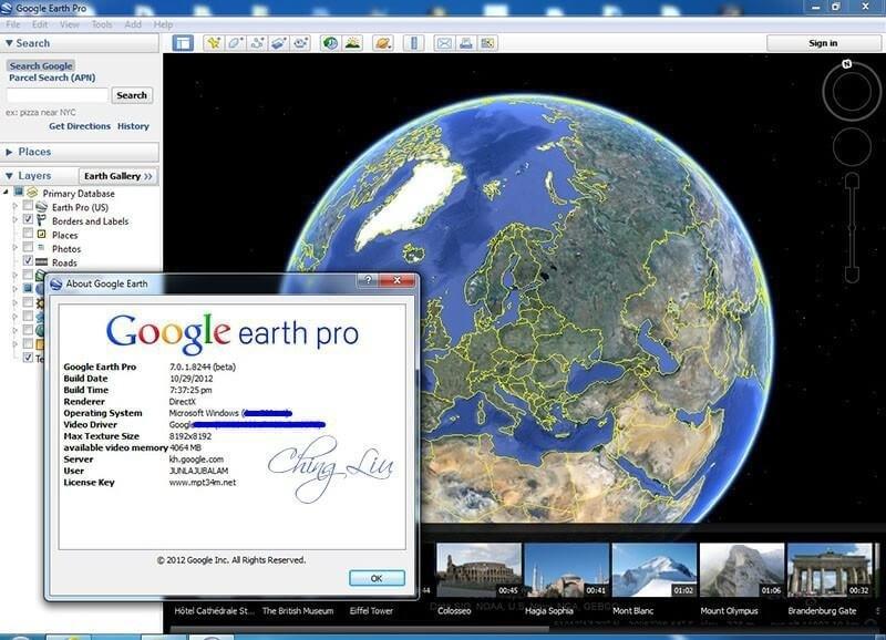 Google Earth Pro keyegen