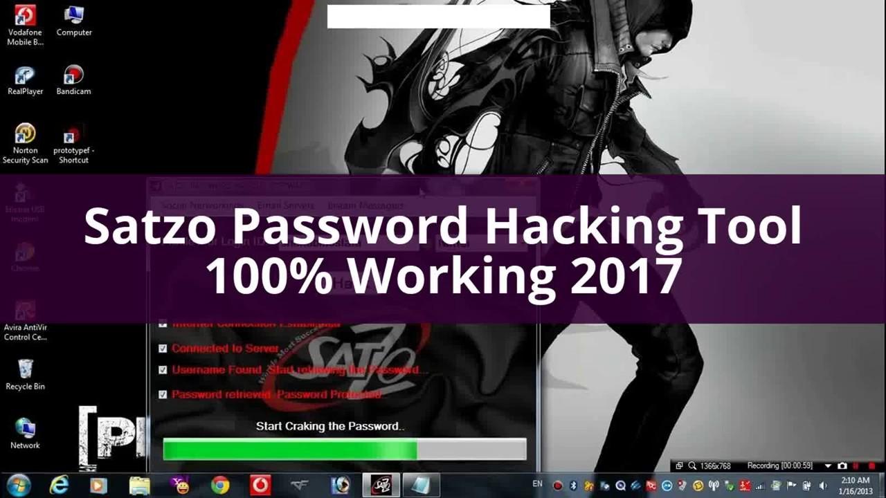 Satzo Password Hacking Software Crack