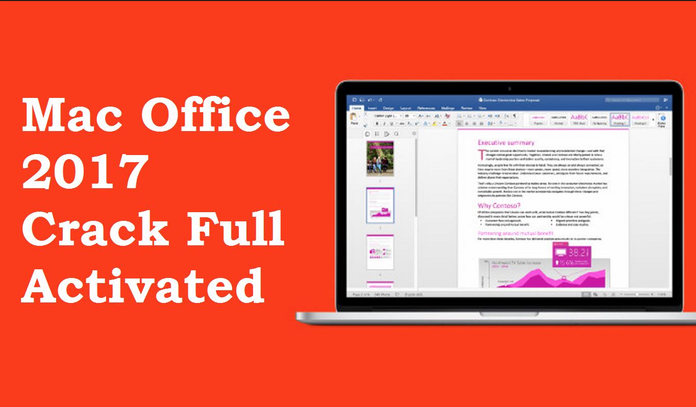 Mac Office 2016 Crack