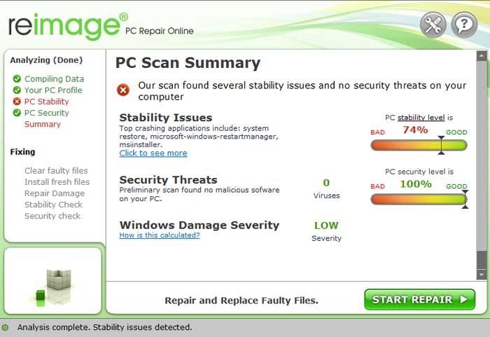 Reimage PC Repair Keygen